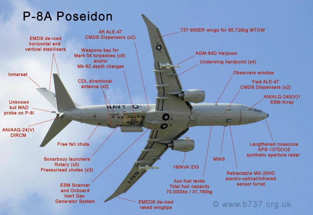 Berlin sur le point d'acquérir 5 P-8A Poseidon