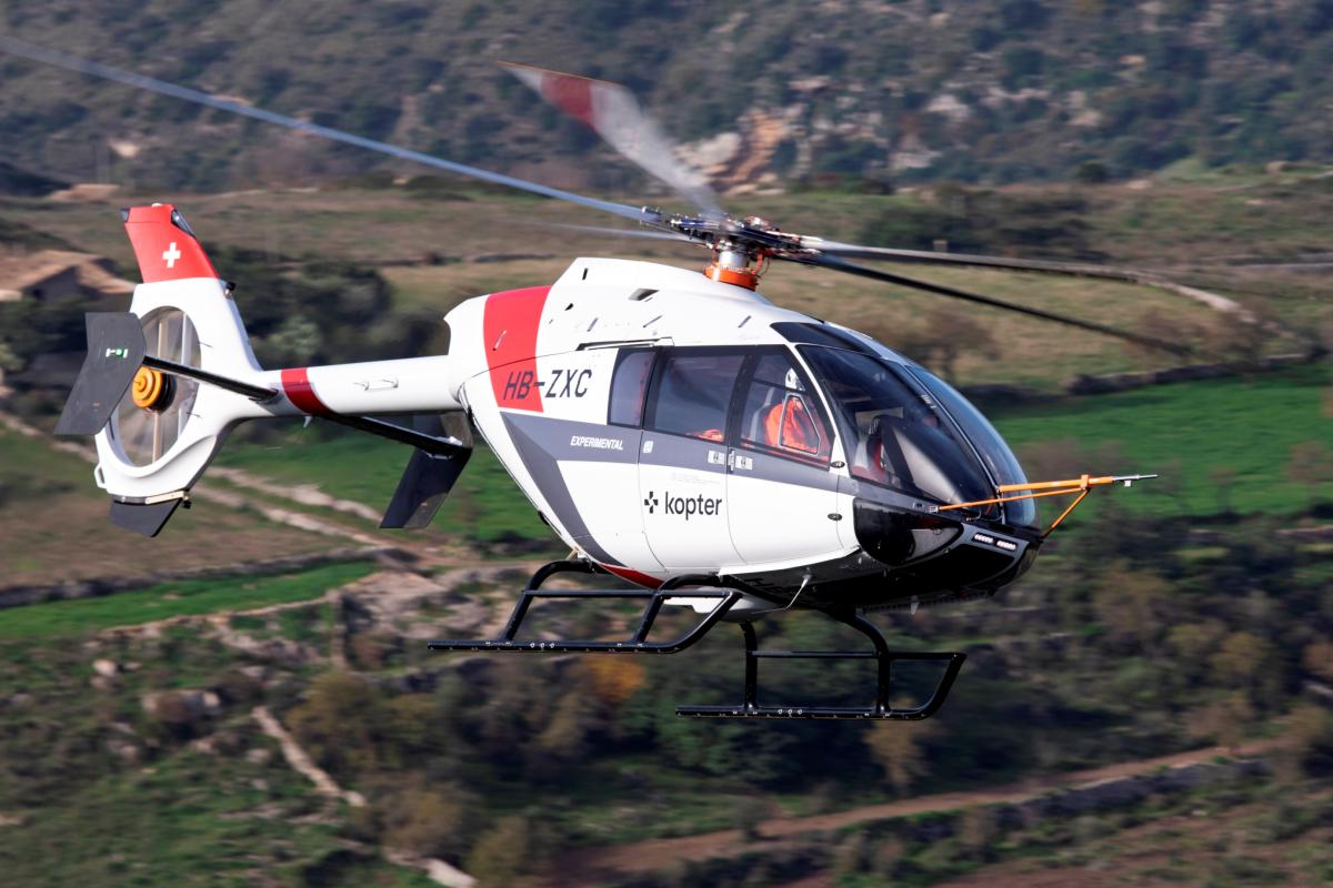 Heli-Expo 2020 : Leonardo rachète Kopter