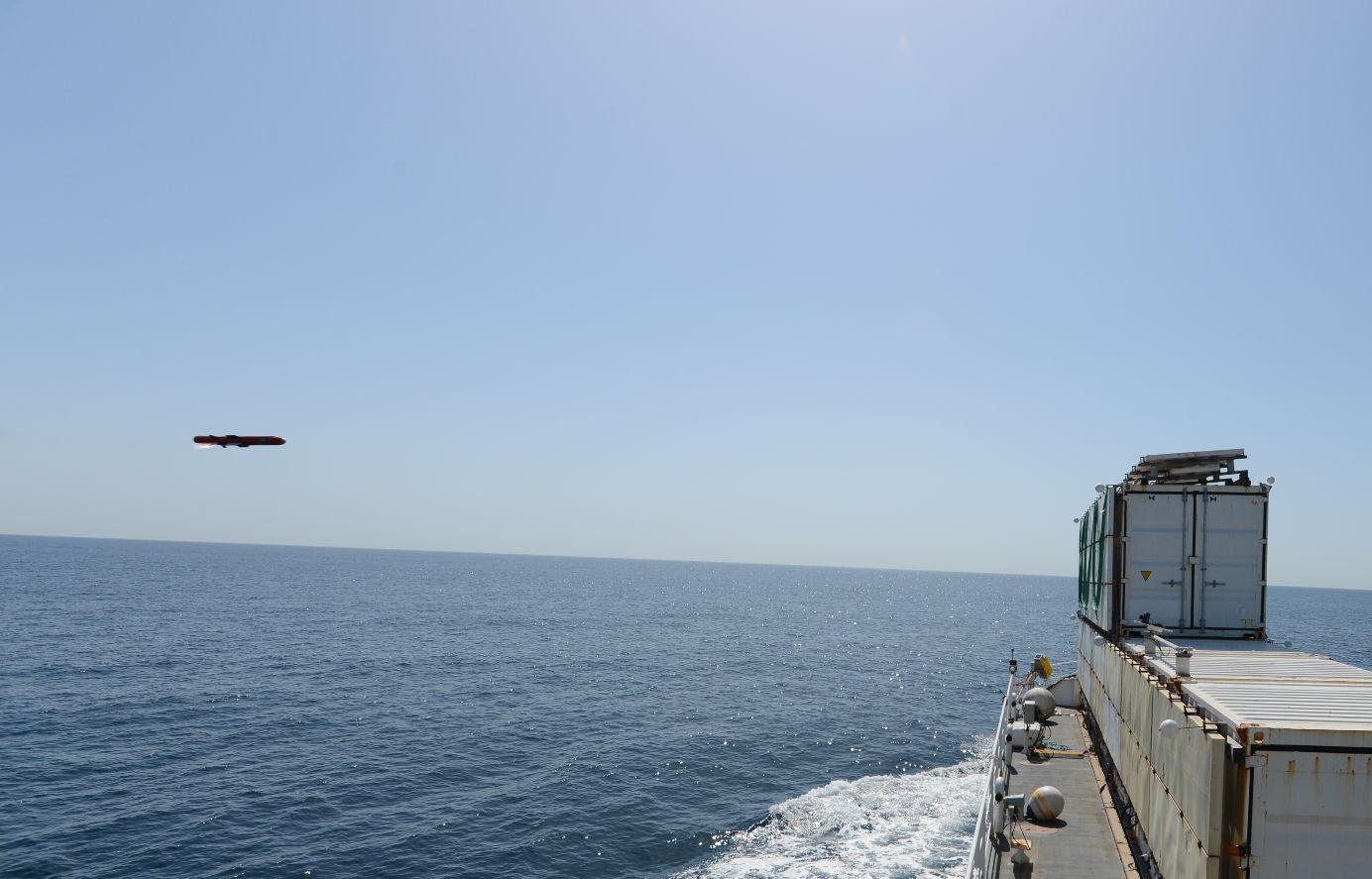 Deuxième tir de développement du missile ANL / Sea Venom