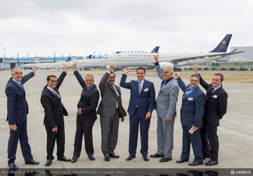 Saudi Arabian Airlines réceptionne son premier Airbus A330-300 Régional