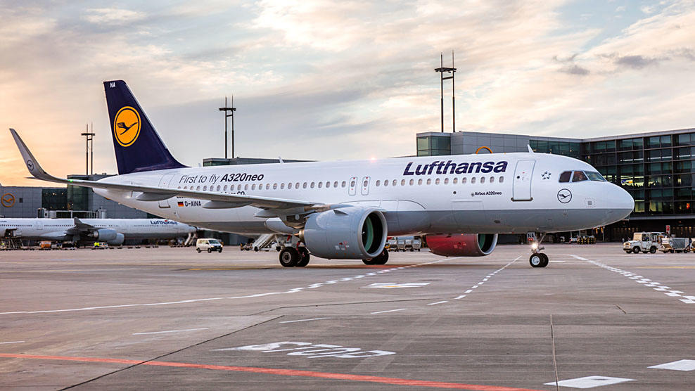 Lufthansa met l'A320neo sur la desserte de Paris