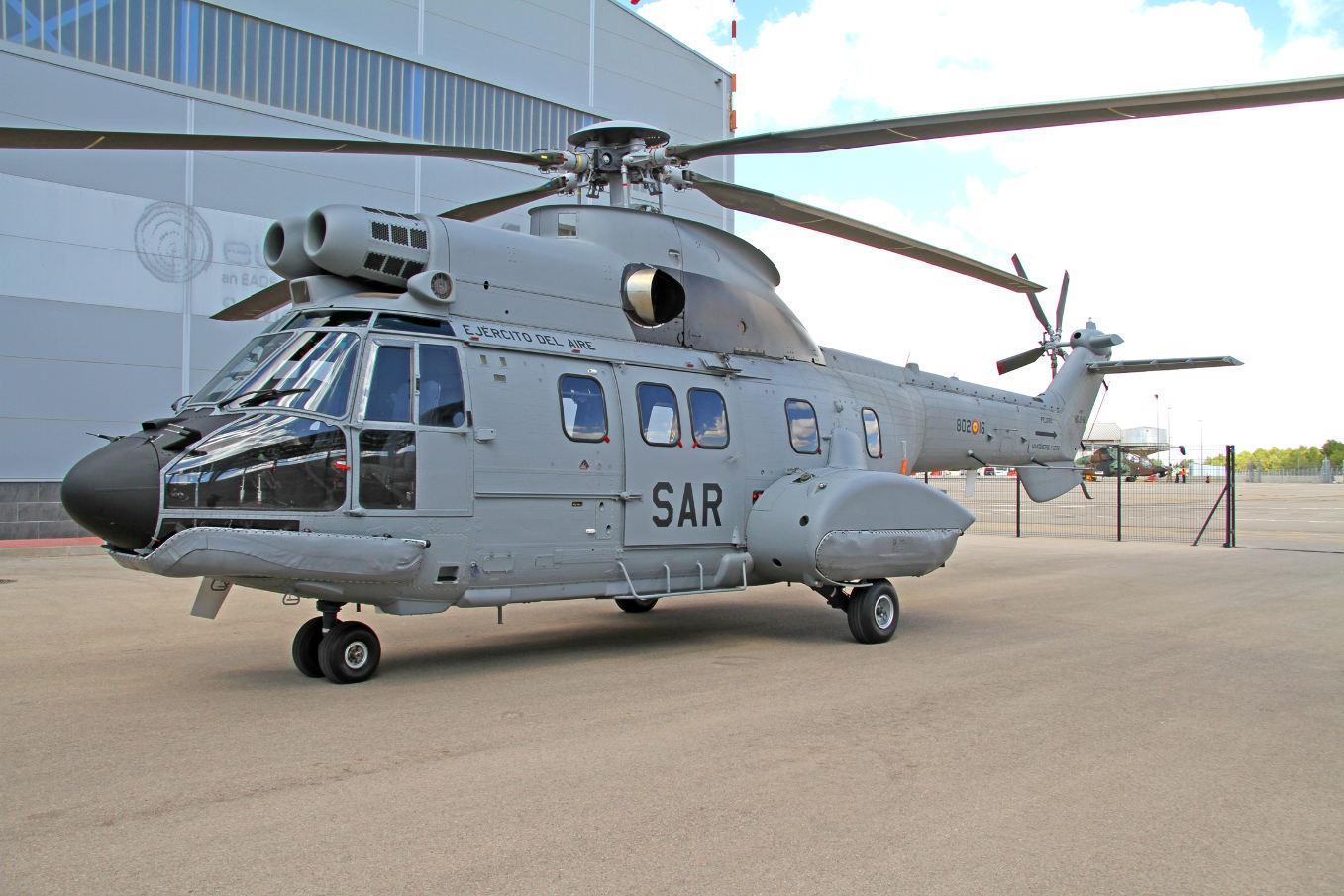 La force aérienne espagnole reçoit son premier H215