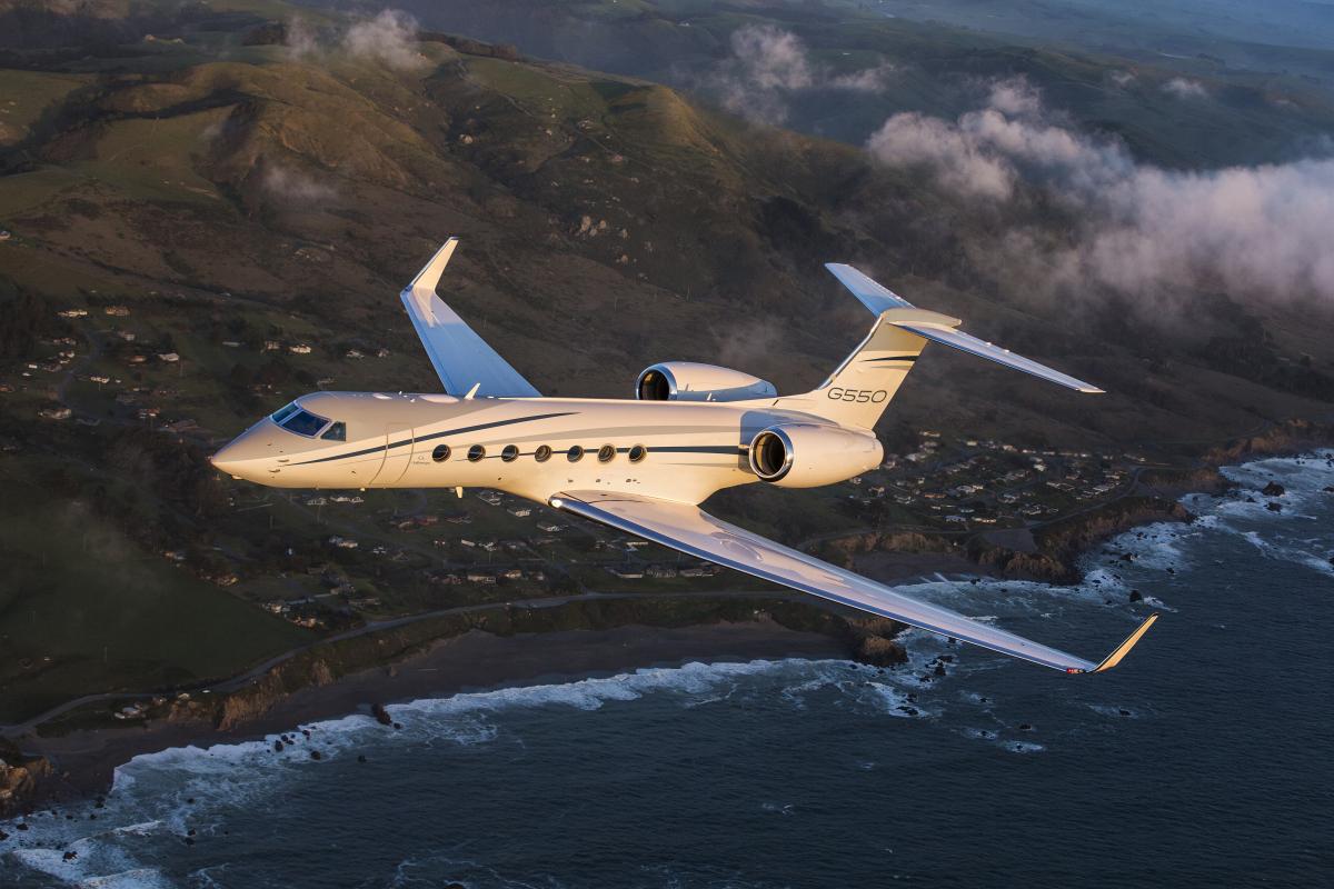 Gulfstream livre son dernier G550