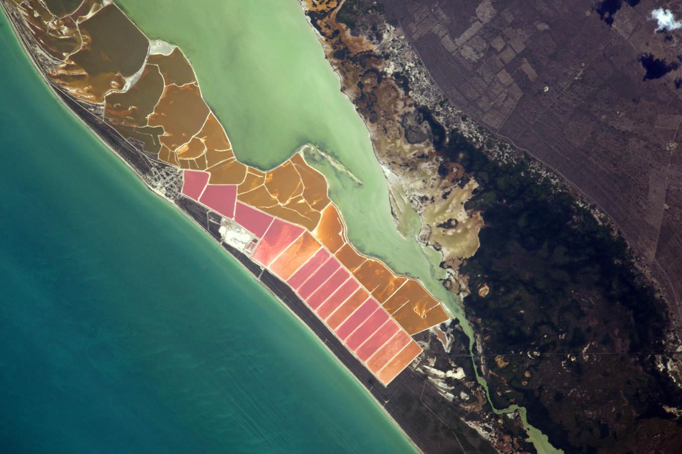 La Terre dans l'oeil de Thomas Pesquet #67 : Las Coloradas, au Mexique
