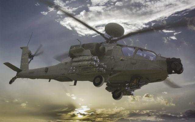 MBDA et Boeing étudient l'intégration du missile Brimstone sur l'hélicoptère Apache