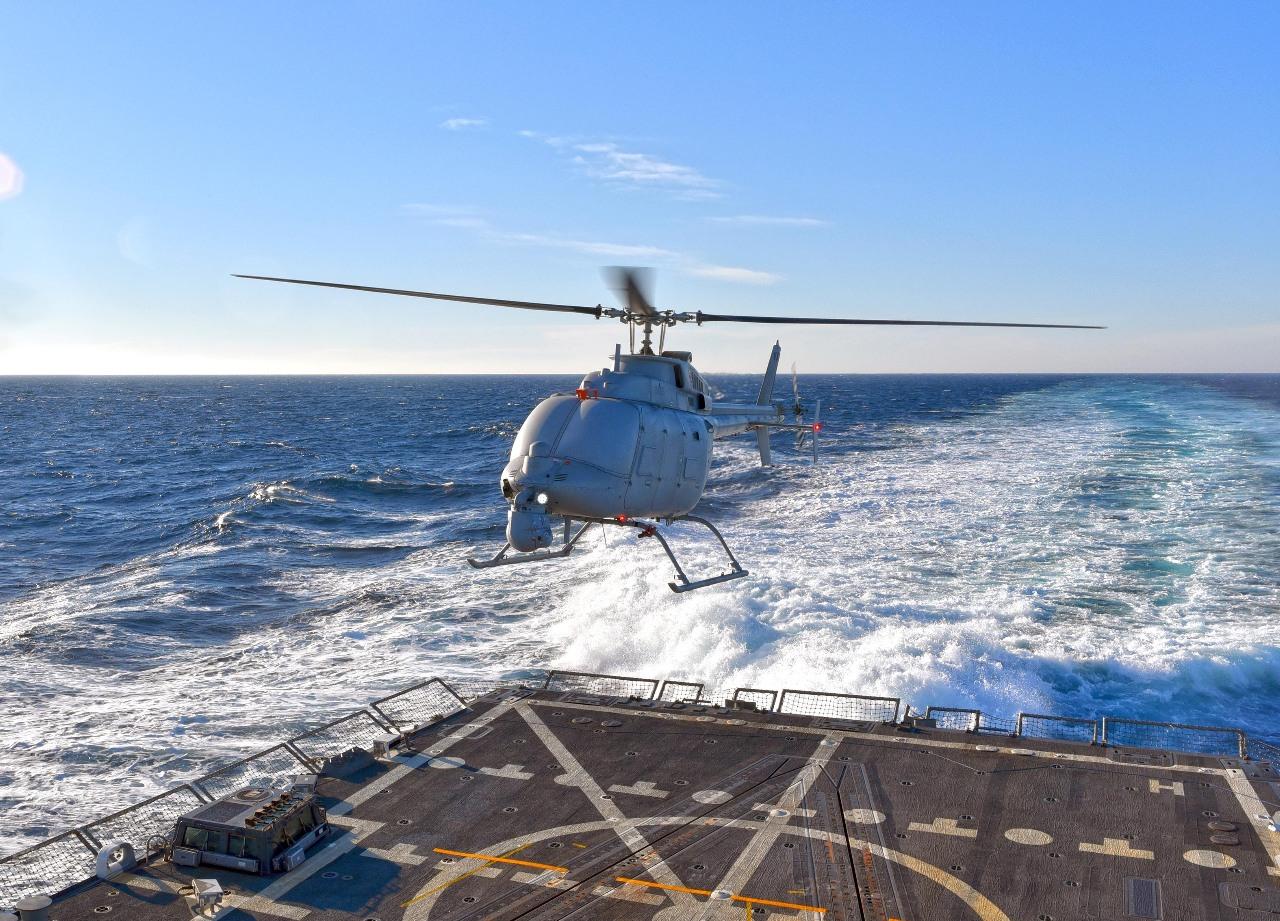 Vers la production en série du drone MQ-8C