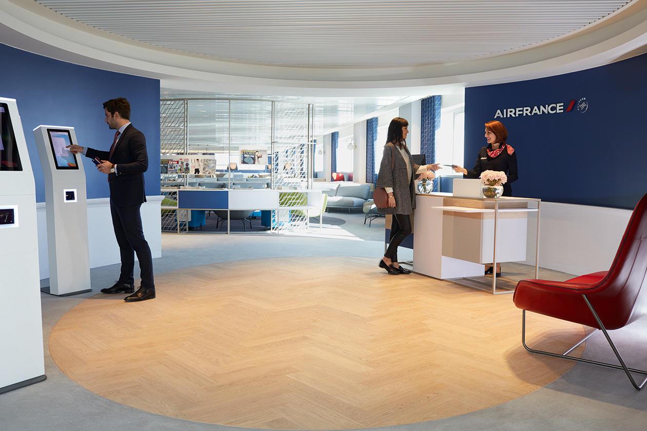 Nouveau salon Air France au terminal 2G de Roissy CDG