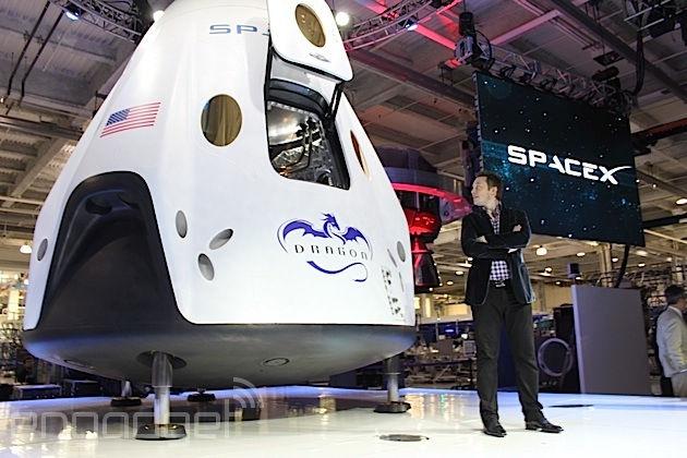 SpaceX veut emporter deux touristes vers la Lune