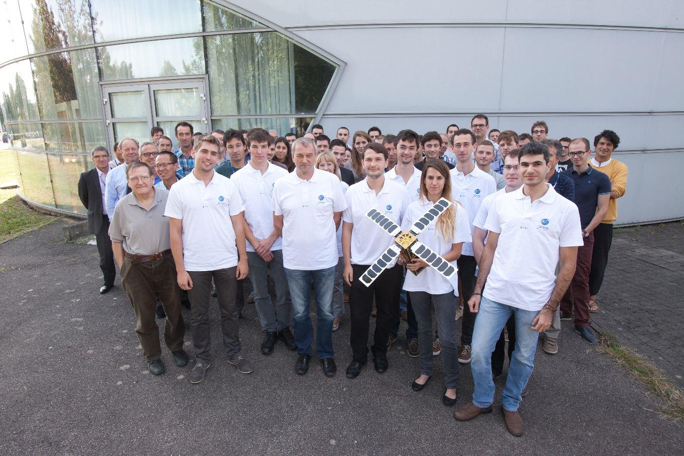 Conférence à Toulouse sur les nanosatellites étudiants