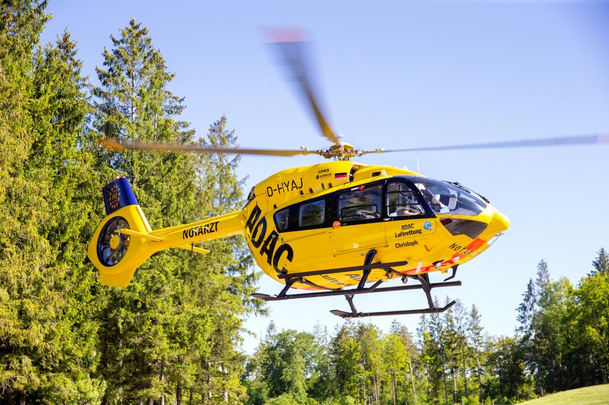 Premier vol d'un hélicoptère de secours avec du carburant aérien durable