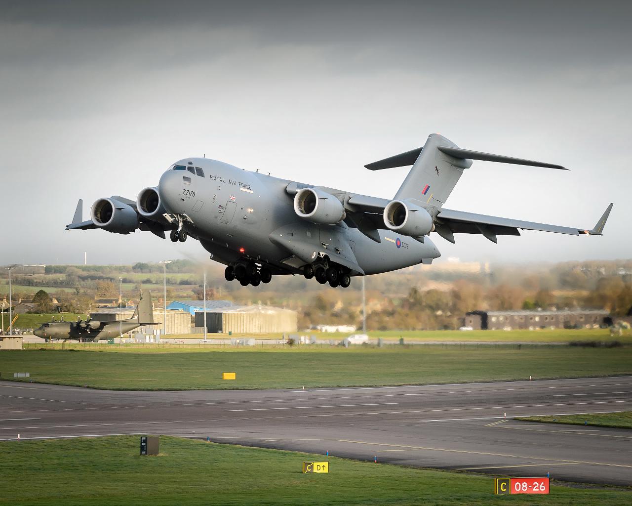 Royaume-Uni : Développement des capacités tactiques du C-17