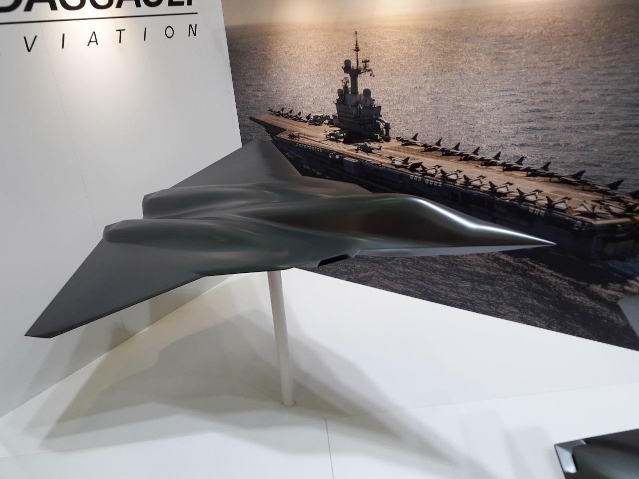Contrat d'étude de concept sur le SCAF pour Dassault et Airbus