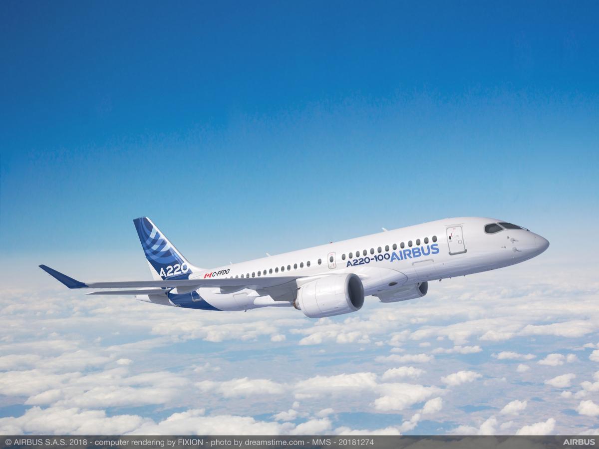 De l'Airbus A220 ou de l'Embraer E190-E2 dans le Pacifique Sud