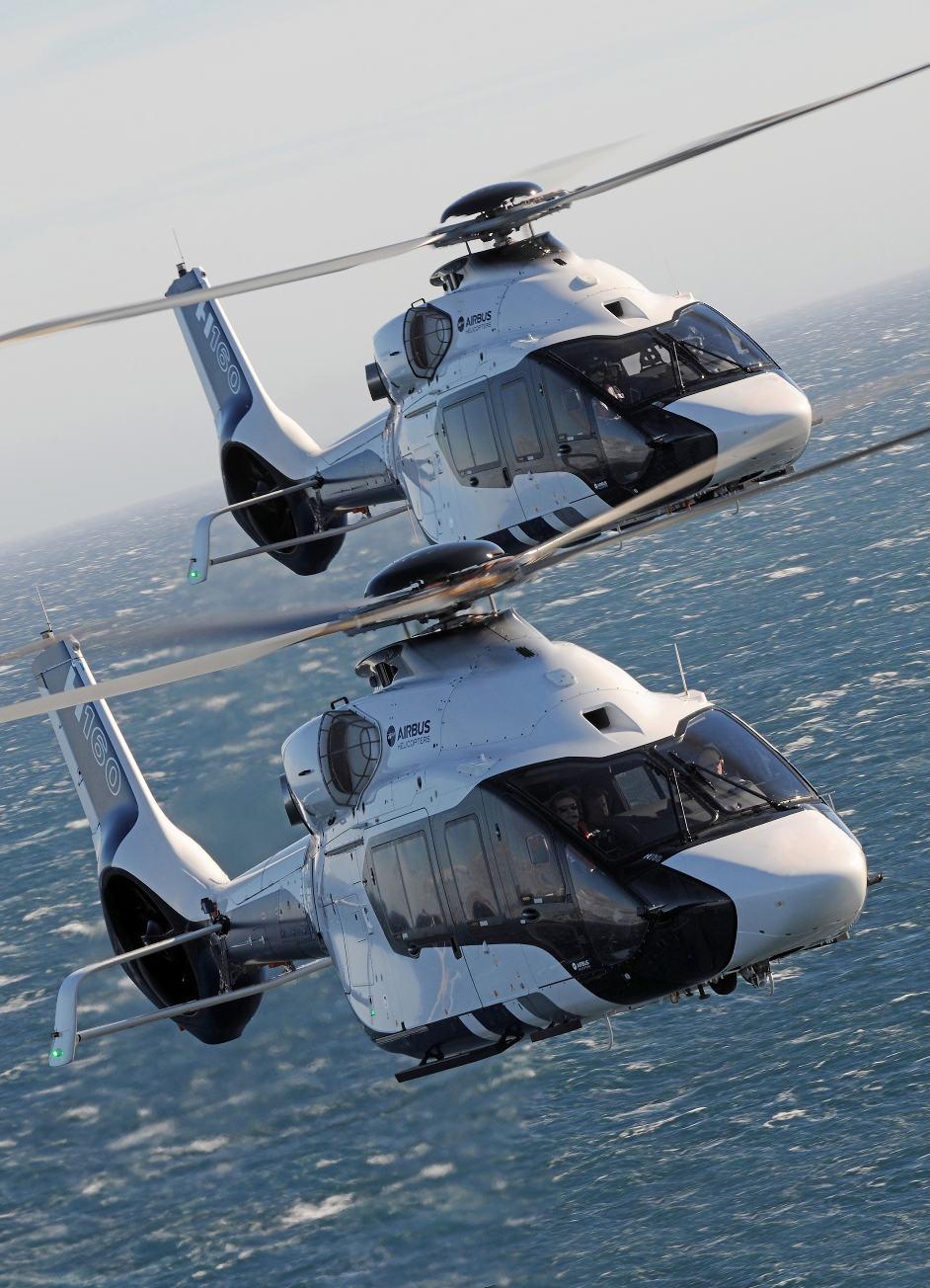 Dubai Airshow 2017 : Trois H160 supplémentaires pour Falcon Aviation