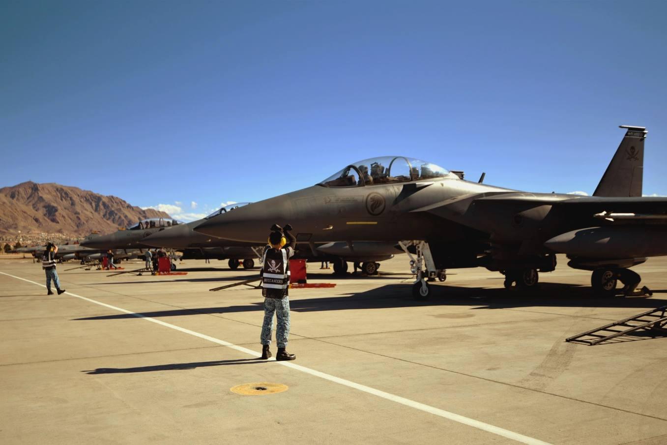 Les F-15 singapouriens participent à l'exercice Red Flag