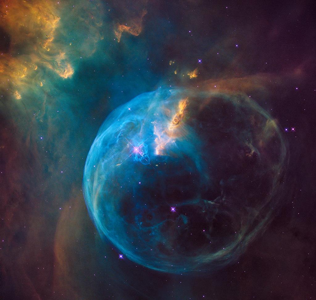 L'image de Hubble pour ses 26 ans