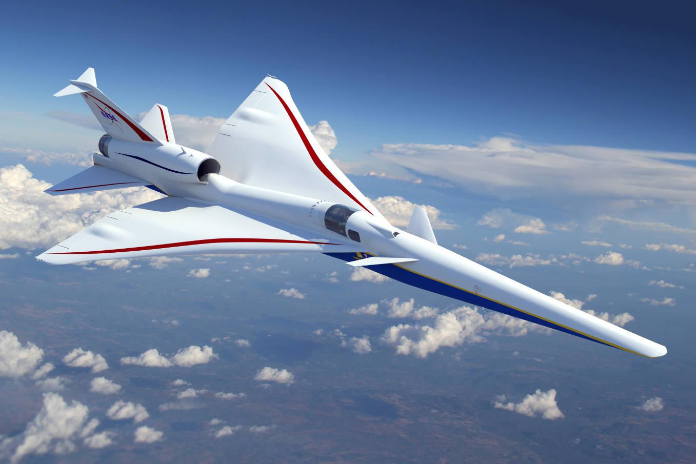 Supersonique : la NASA passe à l'étape suivante