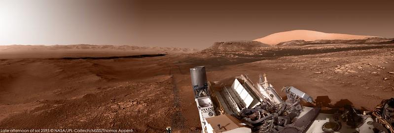 Fin d'après-midi martienne