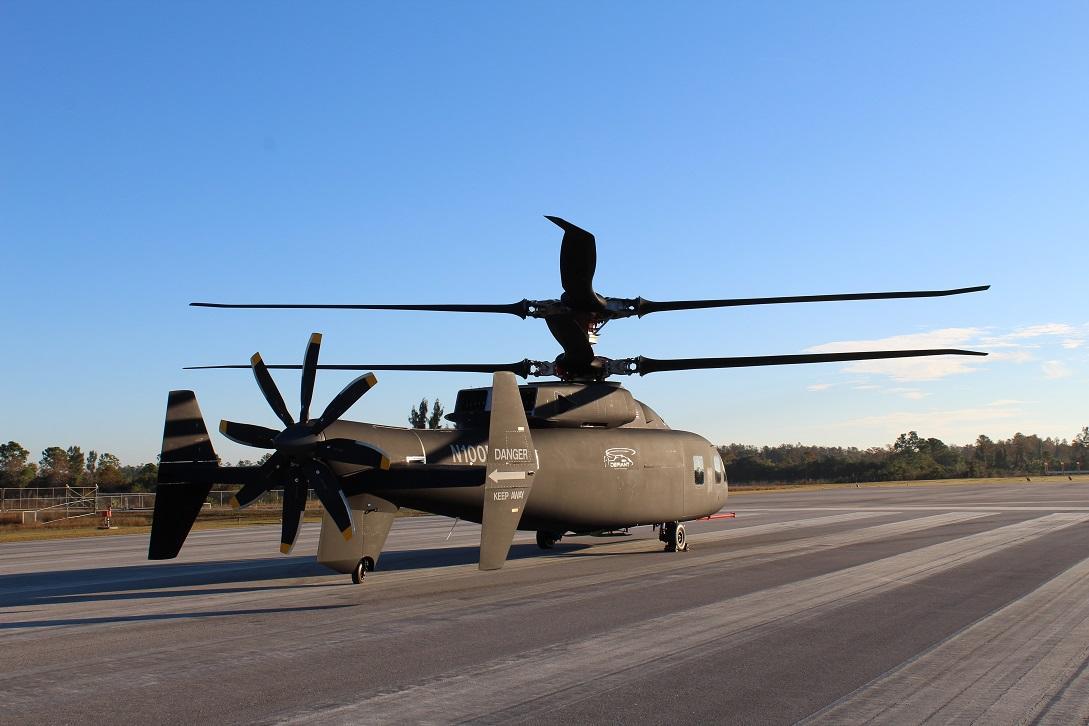 Boeing et Sikorsky dévoilent leur démonstrateur Defiant