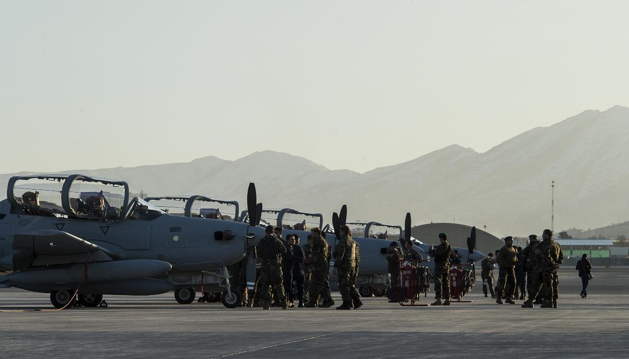 Arrivée en Afghanistan de quatre premiers Super Tucano