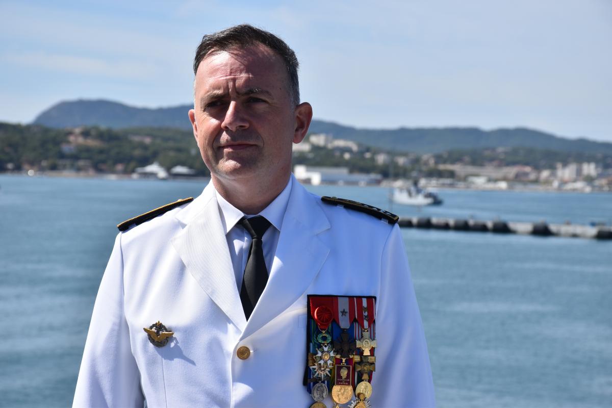 """Défense : un """"Aéro"""" à la tête de la Marine"""