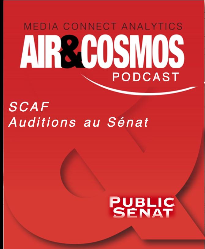 Auditions par la commission des Affaires étrangères, de la Défense et de Forces armées du Sénat: Système de combat aérien du futur (SCAF)