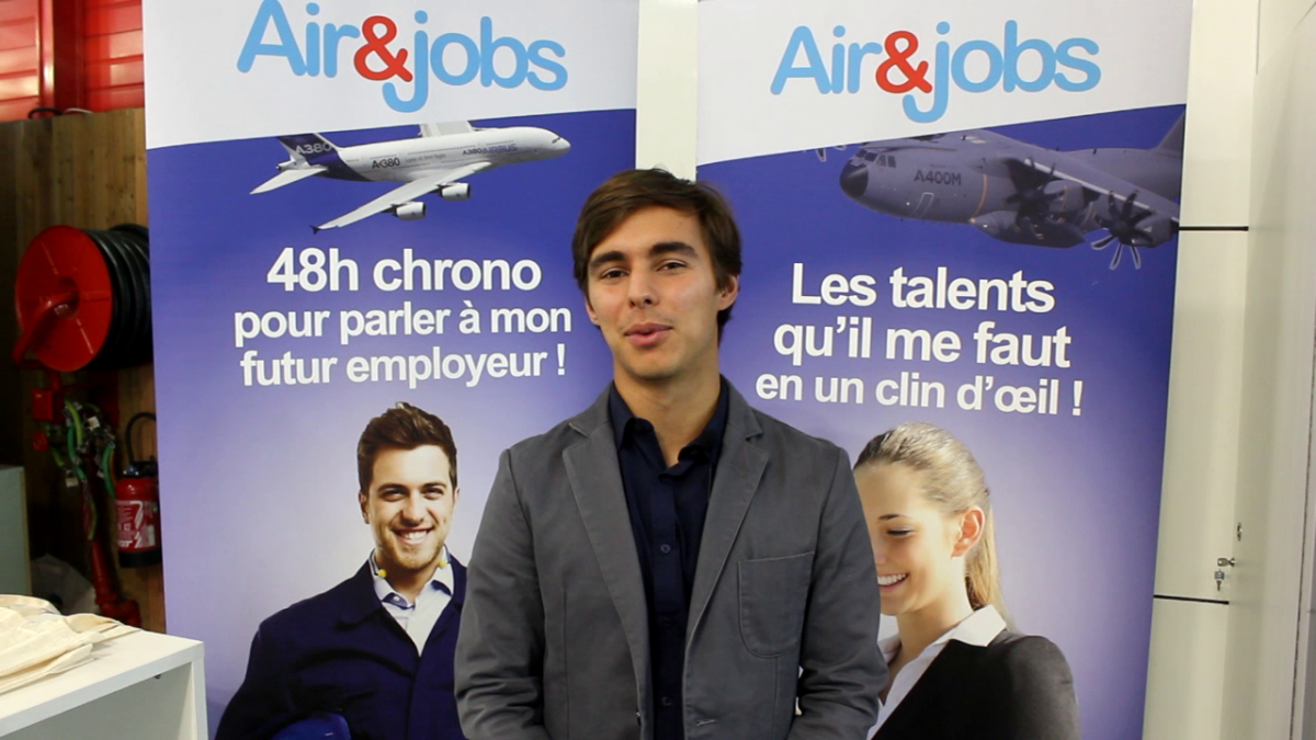 Bourget 2019 : à la rencontre d'Air&Jobs