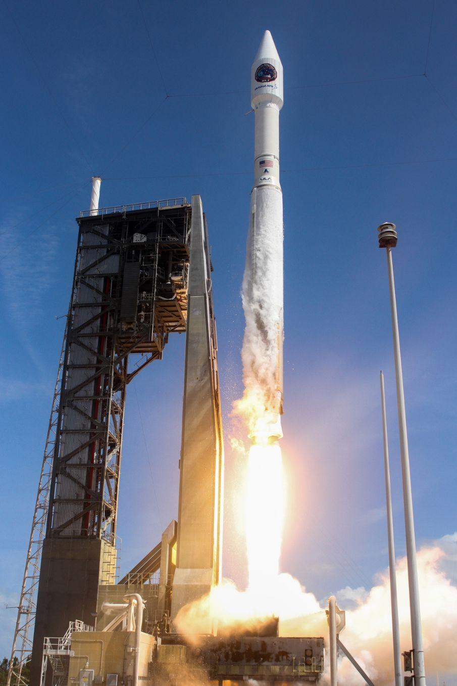 Le cargo Cygnus OA-7 en route vers l'ISS