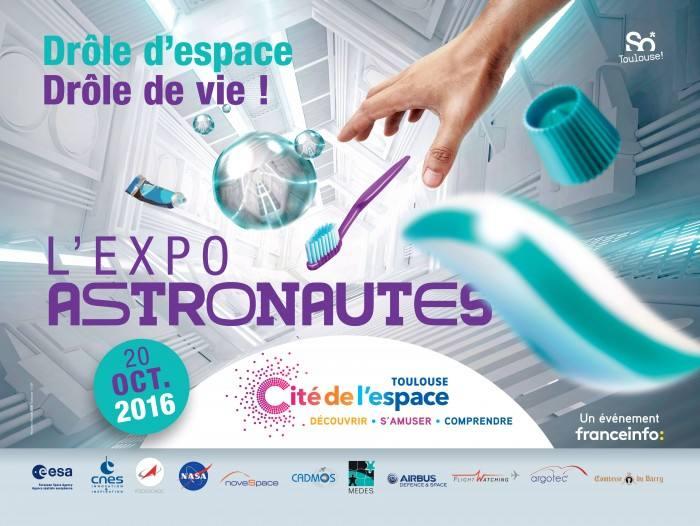 Inauguration de l'exposition «ASTRONAUTES» à la Cité de l'Espace