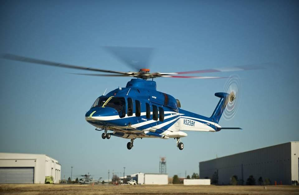 Le Bell 525 en attente du troisième prototype