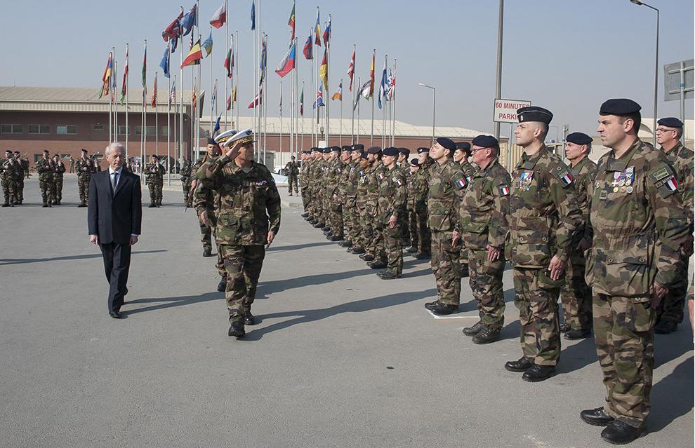 La France ferme officiellement l'opération afghane