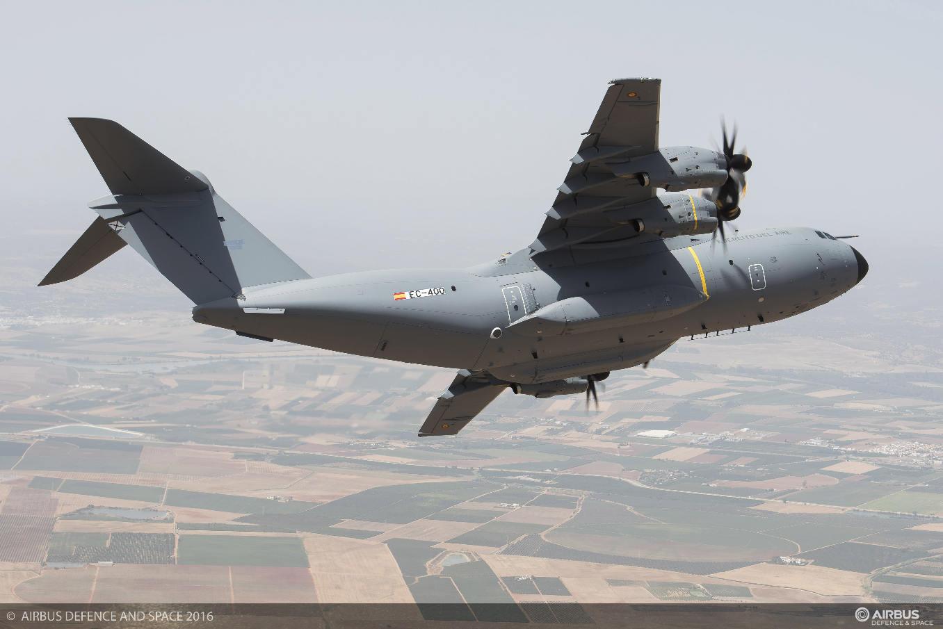 L'Espagne reçoit son premier A400M