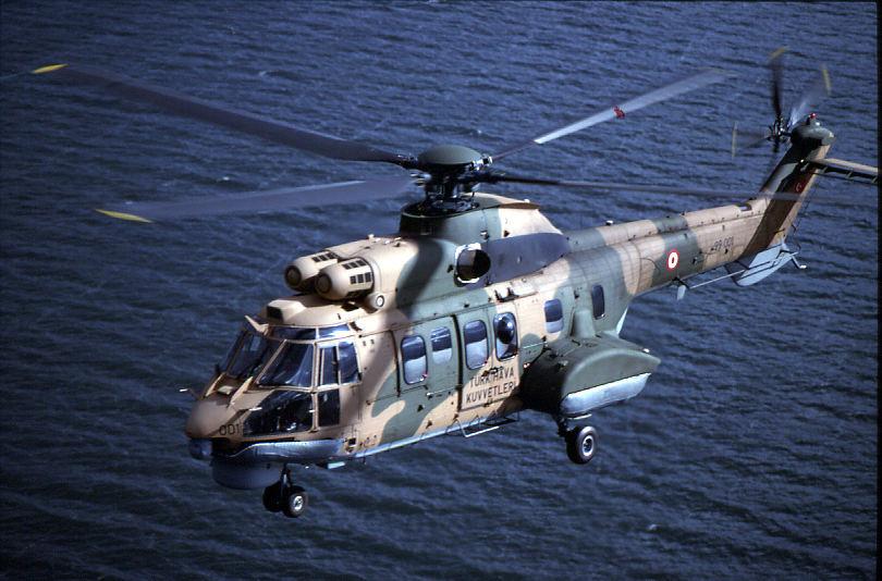Turquie : crash d'un hélicoptère militaire