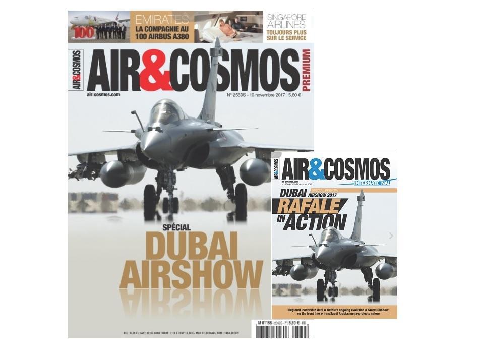 Dubai Airshow, 100 Airbus A380 chez Emirates, Orbital ATK, Mecachrome, cette semaine dans Air&Cosmos