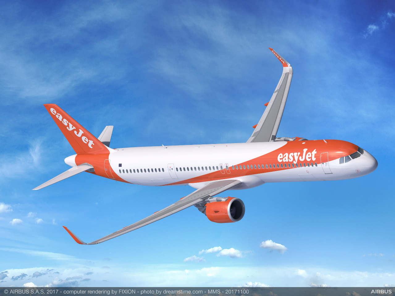 Easyjet et Airbus signent un accord relatif à un projet de recherche sur les avions hybrides et électriques.