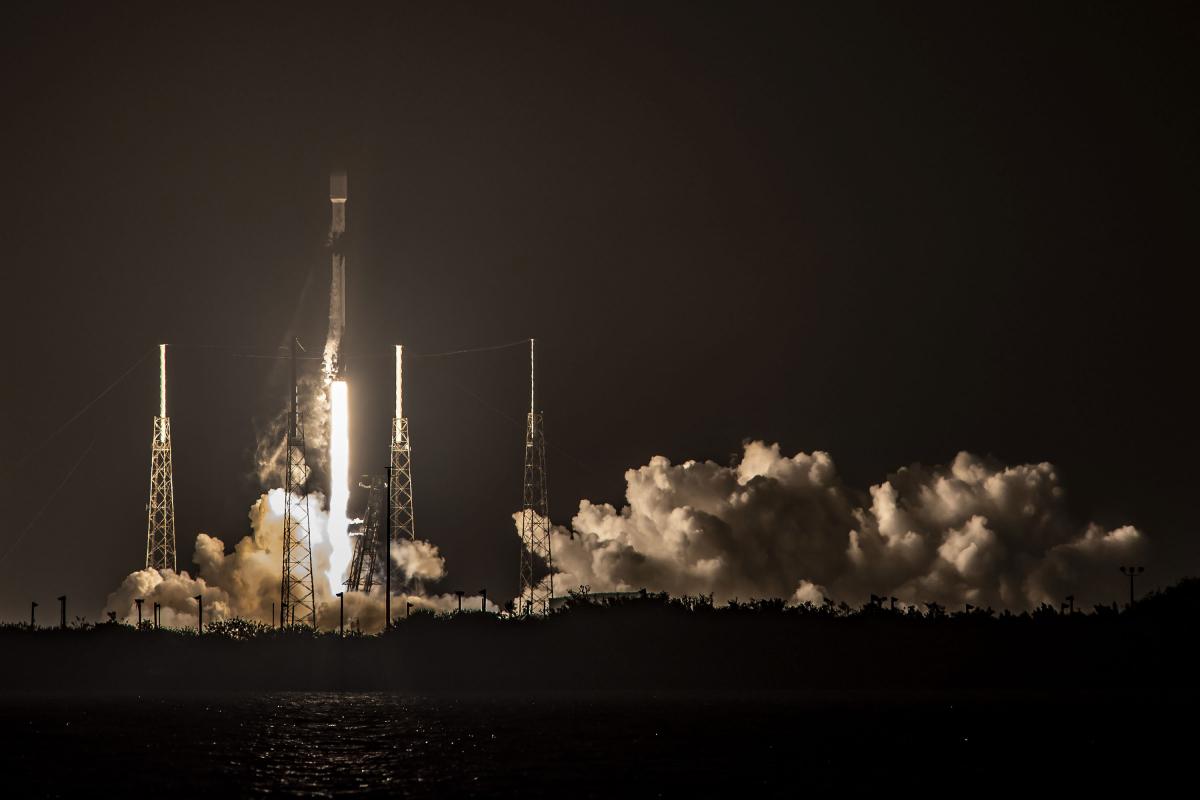 Centième lancement de Falcon 9 et septième vol d'étage d'affilée