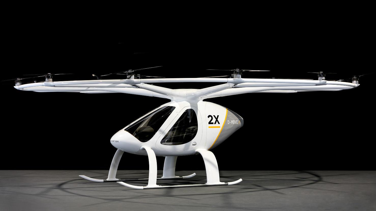 Volocopter transporte son premier passager