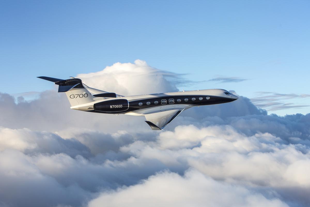 Le Gulfstream G700 bat deux nouveaux records de vitesse