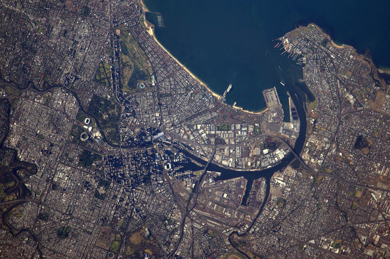 La Terre dans l'oeil de Thomas Pesquet #53 : Melbourne