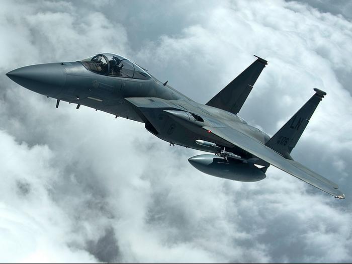 Des F-15 américains en Islande