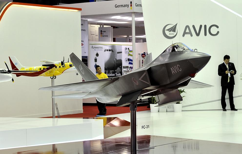 Dubai: AVIC lève une partie du voile sur le FC-31