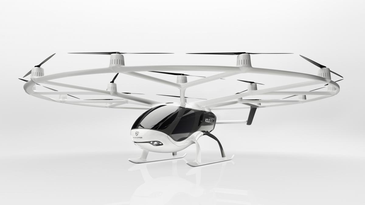 Volocopter bénéficie d'une levée de fonds supplémentaire de 87 millions d'euros