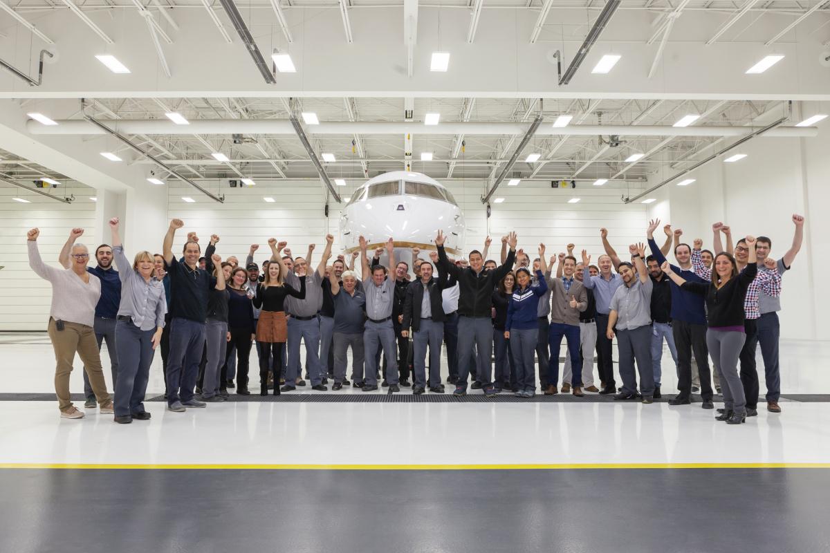 Bombardier obtient le certificat de type EASA pour les Global 5500 et 6500