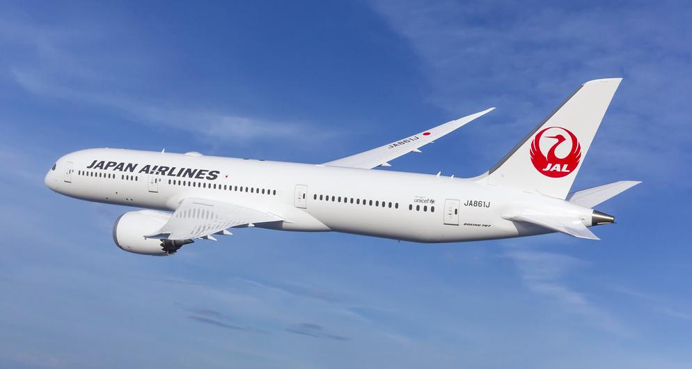 JAL étend son accord de maintenance pour ses Boeing 787 avec Collins