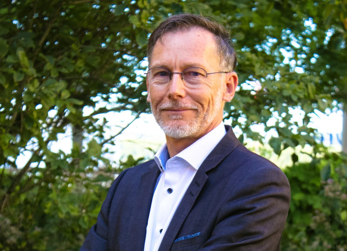 Bruno Darboux aux commandes d'Aerospace Valley