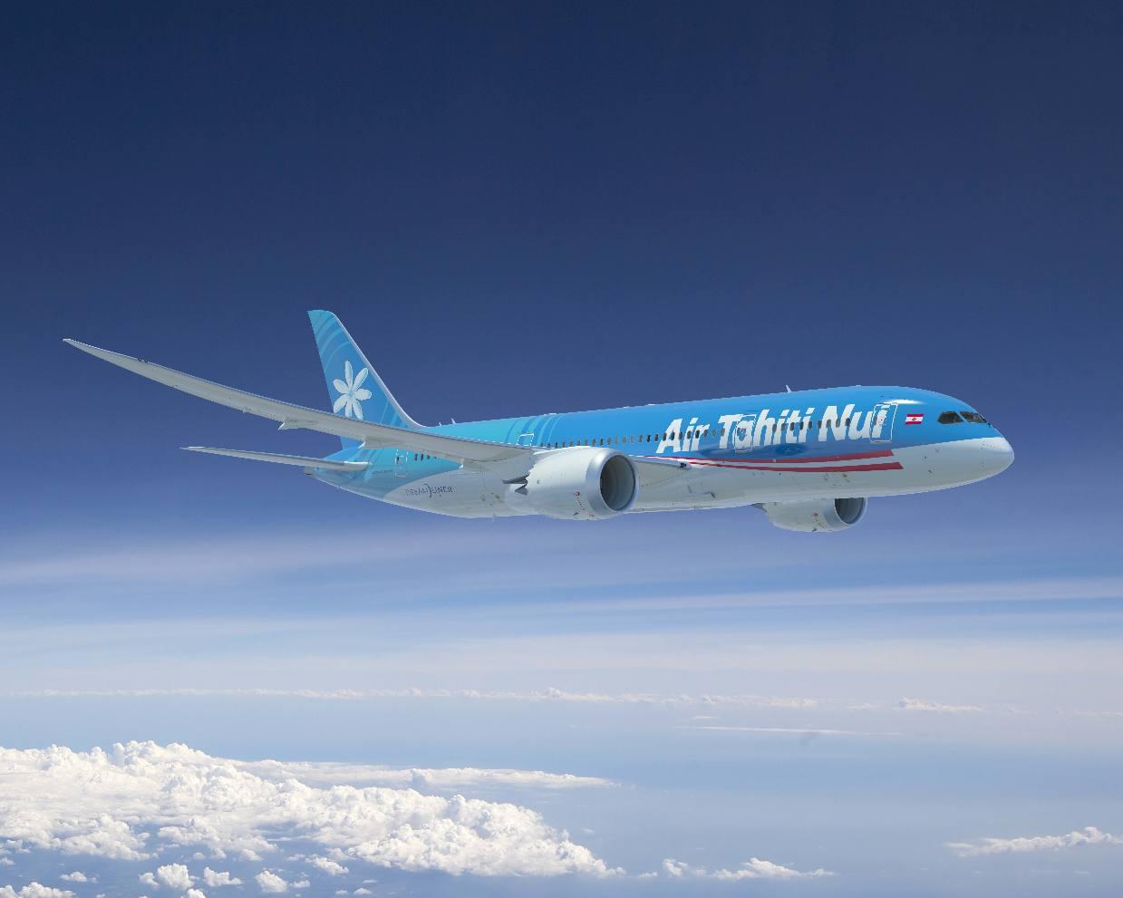 Les Dreamliners d'Air Tahiti Nui ouverts en réservation