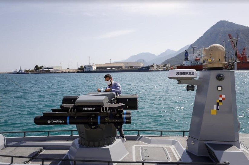 Turquie: Un drone naval contre la Grèce