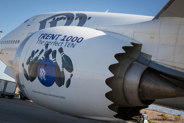 Premier vol du Rolls-Royce Trent 1000 Ten
