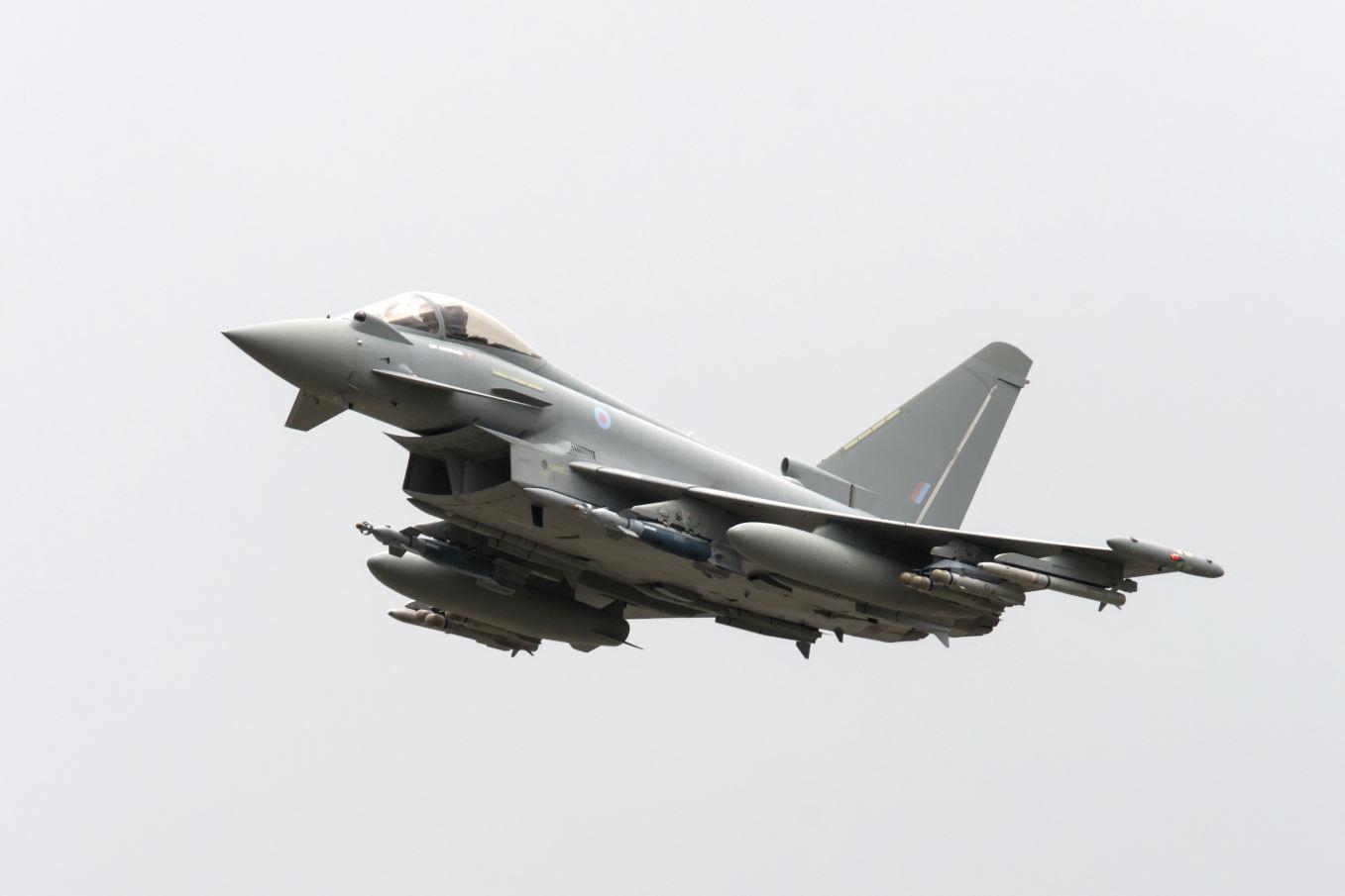 Eurofighter fait les yeux doux à la Belgique
