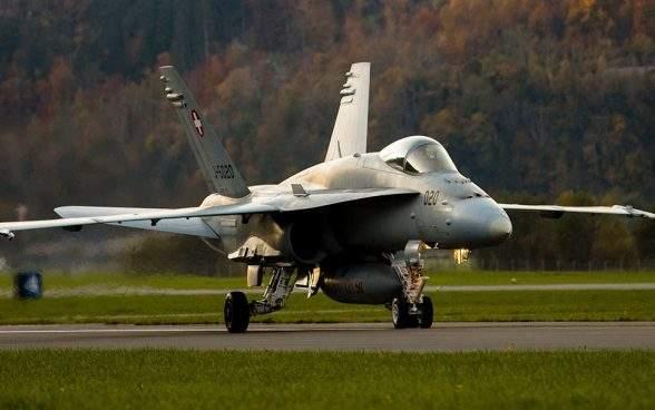 La Suisse reçoit cinq offres pour le remplacement de ses avions de combat